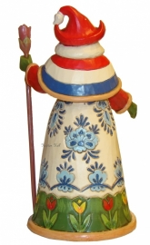 """Dutch Traditions"" Nederlandse Santa H18cm Jim Shore uit 2013 nr. 4034367"