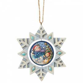 Snowflake Hanging Ornament GWP Jim Shore 6004320