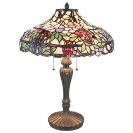 5926 Tafellamp Tiffany H60cm Ø45cm Flosstila