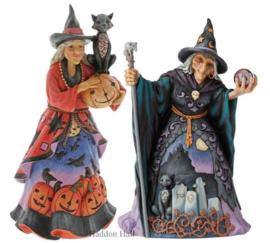 Witches Set van 2 H25cm Jim Shore