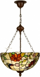 "TV158L-8842 Hanglamp Tiffany Ø50cm ""Butterfly"""