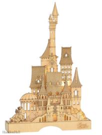 Beauty & the Beast Illuminated Castle H41cm Flourish Disney 6004005