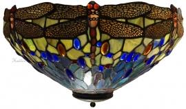 5296 80 Plafonniere Tiffany Ø42cm  Waterjuffer
