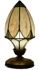 TLAN1 Tafellamp Tiffany H35cm Ø18cm Brooklyn