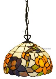 CT215 Hanglamp Tiffany Ø25cm Kolibrie