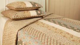 Q054 Clayre & Eef Bedsprei 180 x 260 cm Quilt Patchwork beddesprei