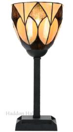 8118 Tafellamp Tiffany Uplight H35cm Ø13cm Parabola