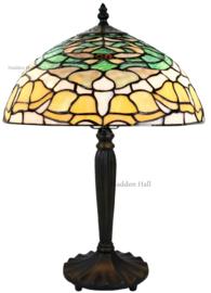 8125 Tafellamp Tiffany H47cm Ø30cm Campanula