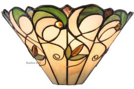 T095W Wandlamp Tiffany B30cm Schelpmodel Jamelia 5208