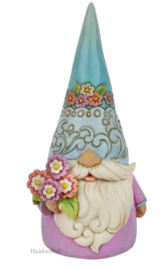 Gnome with Flowers H18cm Jim Shore 6010286