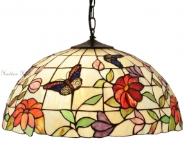 "TV158M-97 Hanglamp Tiffany Ø40cm ""Butterfly"""