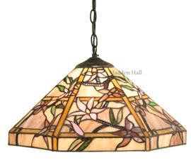 T047M Hanglamp Tiffany Ø42cm Clematis