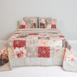 Q159 Clayre & Eef Bedsprei 260 x 260 cm Quilt Patchwork