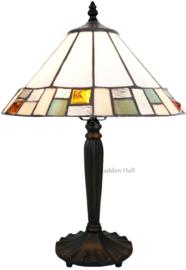 5858 Tafellamp Tiffany H47cm Ø30cm Poiret
