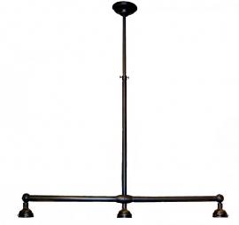 93 Ophanging B90cm voor hanglamp met 3 kappen