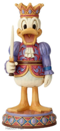 "DONALD Nutcracker ""Reigning Royal"" H18cm Jim Shore 6000948"