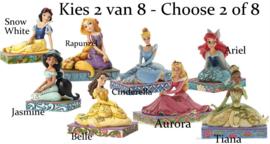 Set van 2 Princesses - Choose  2 of 8  Jim Shore