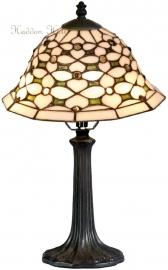 505 9022 Tafellamp Tiffany H41cm Ø25cm Jewel