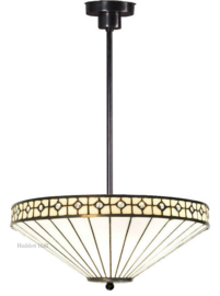 5984 7916 Hanglamp Uplight Tiffany Ø40cm White Diamond