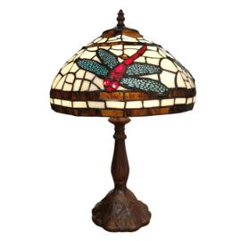 6023 Tafellamp Tiffany H47cm Ø31cm