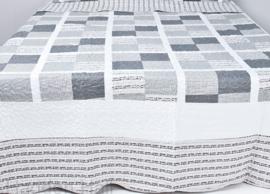 Q165 Clayre & Eef Bedsprei 180 x 260 cm Quilt Patchwork-style beddesprei