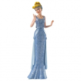 CINDERELLA Art Deco figurine H21cm Showcase Disney