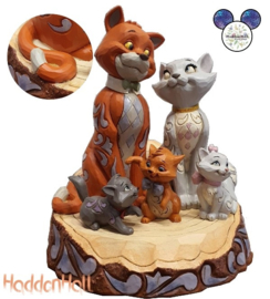 Aristocats Carved by Heart White Tale- Jim Shore 6007057