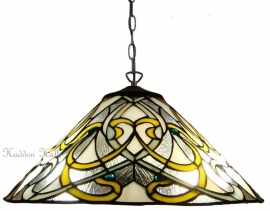 "T023-97  Hanglamp Tiffany Ø40cm ""Dauphine"""