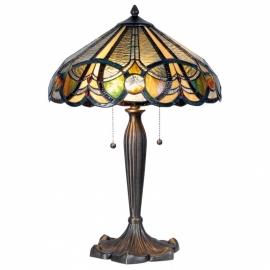 5299 Tafellamp Tiffany H61cm Ø41cm Doncaster