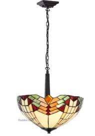 5961 68770 Hanglamp met Tiffany kap Ø40cm Stricta