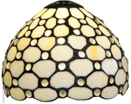 5879 Kap Tiffany Ø20cm Creme Pearl