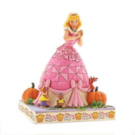 Cinderella Carriage & Cinderella & Mice - Set van 2 Jim Shore beelden