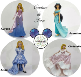 Couture de Force - Set van 4 - H20cm Disney Showcase