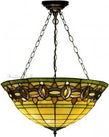 """5804 SU3 Hanglamp Tiffany Ø51cm """"Olive"""""""