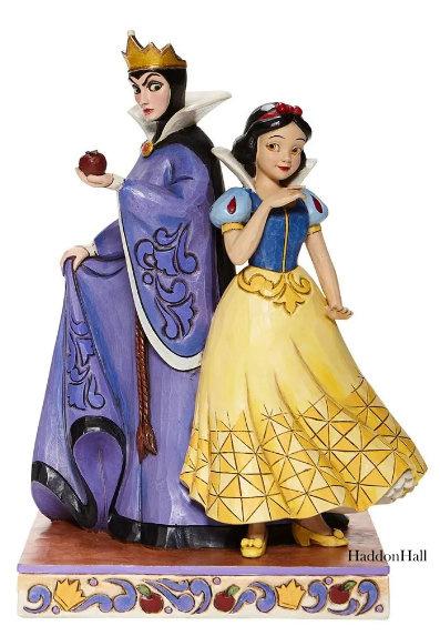 Snow White & Evil Queen Evil and Innocence H21cm Jim Shore 6008067