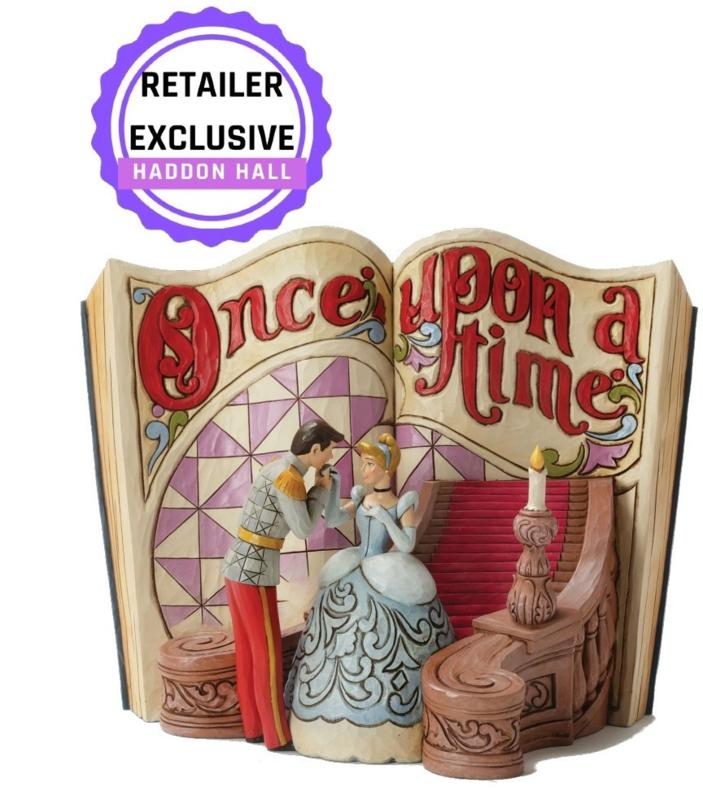 CINDERELLA Storybook  H17cm Jim Shore 4031482 Assepoester Storybook Reintroduction 2019