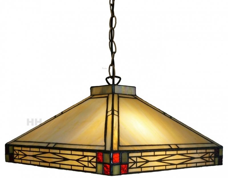 5840 Hanglamp Tiffany 36x36cm Rietveld