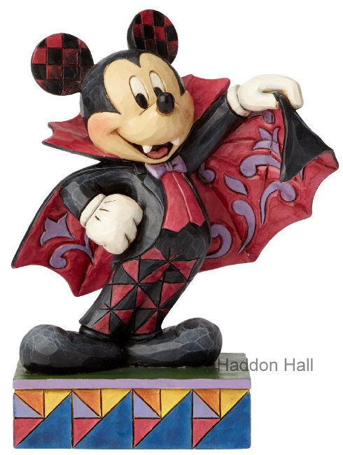 "MICKEY ""Colourful Count"" H 16cm Jim Shore 6000950 Disney Traditions"