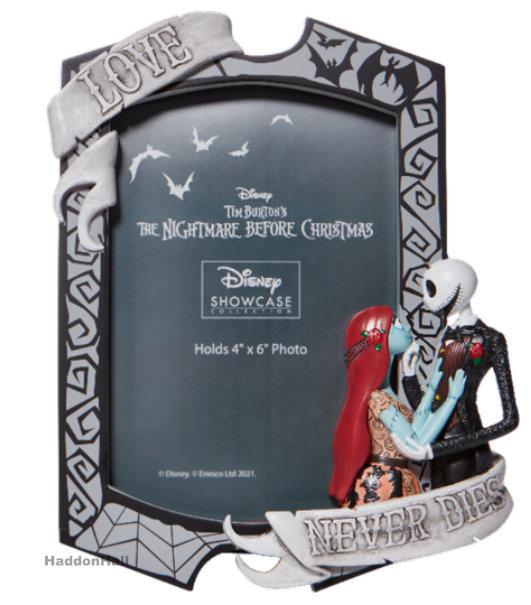 Jack & Sally Couture de Force Fotolijst Disney Showcase
