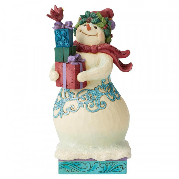 Winter Wonderland Snowman H22cm Jim Shore 6004191 Retired
