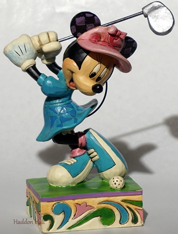 MINNIE  I'd Rather be Golfing  H 18cm  Jim Shore 4038495