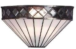 T4W Wandlamp Tiffany B31cm Schelpmodel Fargo