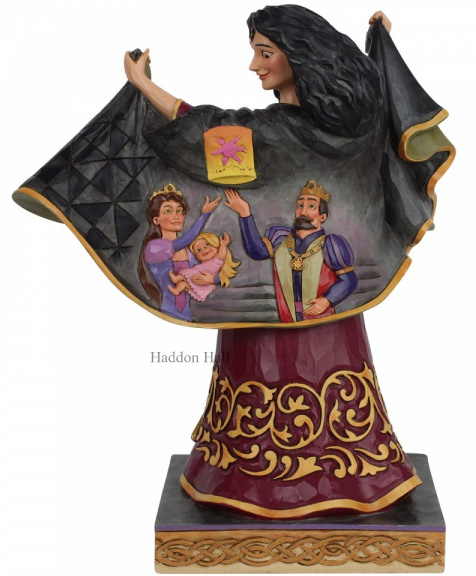 Rapunzel -Mother Gothel H21cm Jim Shore 6007073