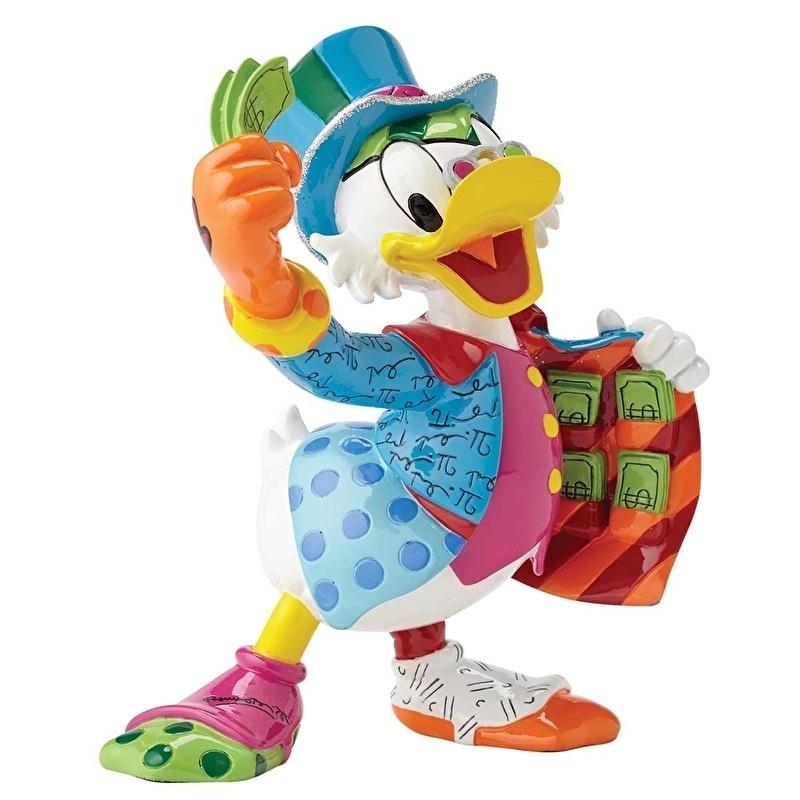 Uncle Scrooge H 15cm Disney by Britto Dagobert Duck 4051800