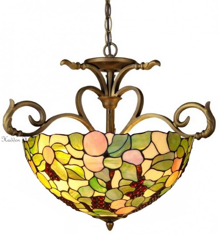 1138 H55 Hanglamp Tiffany Ø56cm Redberrie