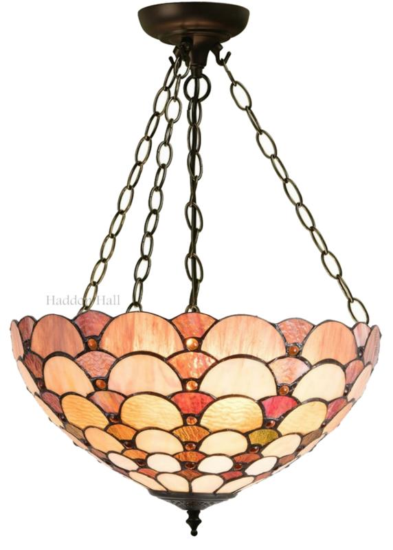 5902 Hanglamp Tiffany Ø40cm Kuori