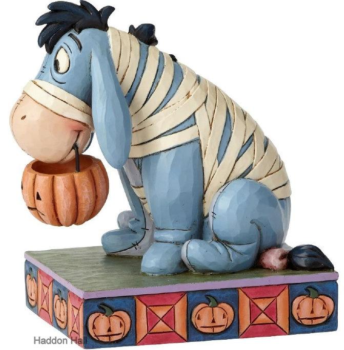 EEYORE Melancholy Mummy  H 13cm Jim Shore 6000952 Disney Traditions. Retired