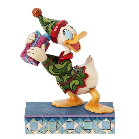 "Donald ""Santa's Curious Helper"" H14cm Jim Shore 4039035"