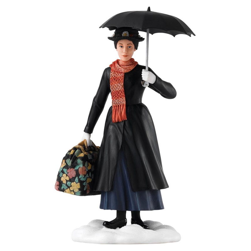 """MARY POPPINS Figurine """"Practically Perfect"""" H 22cm Enchanting Disney A27976"""