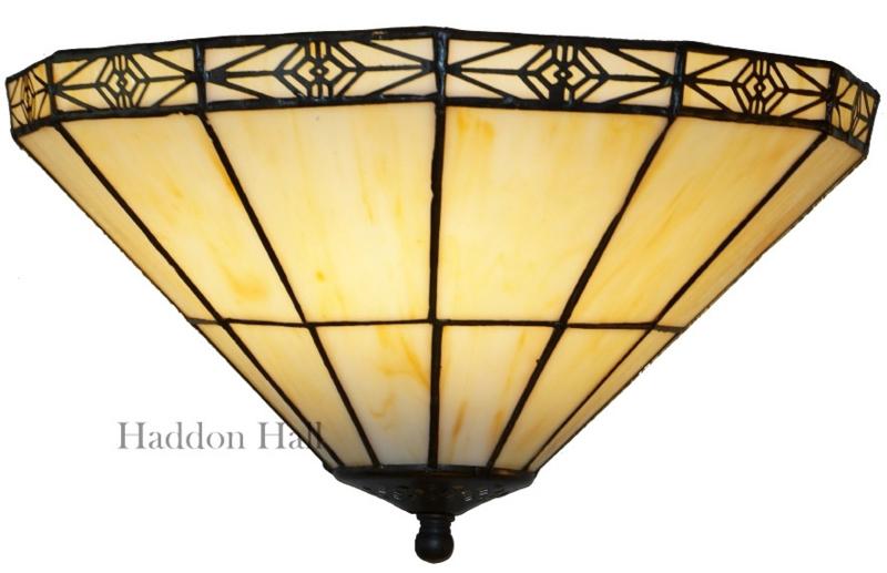 LP1044 Wandlamp Tiffany Schelpmodel B34cm Serenity